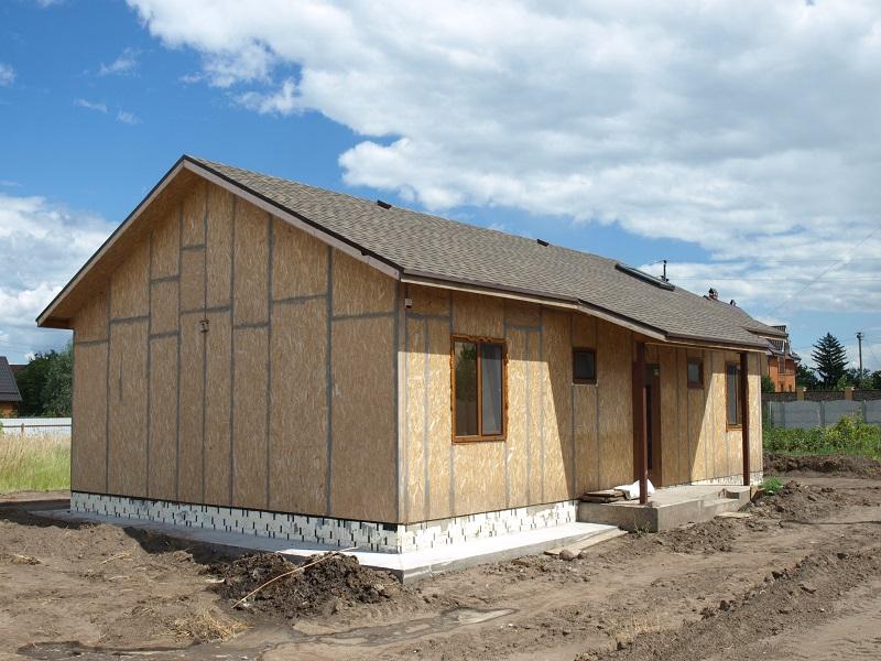 Домокомплект каркасного дома из сип панелей