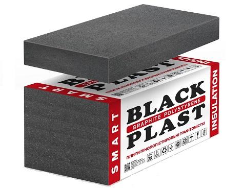 Графитовый пенопласт BLACK PLAST® • EPS 60