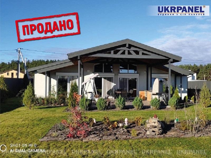 Дом из сип панелей с участком под Вышгородом