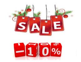 ᐉ Зимняя акция -10% • На домокомплект • Количество акционных домокомплектов ограничено