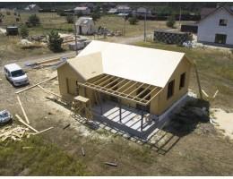 ᐉ Закончено строительство дома из сип панелей • Укрпанель • Вышгород • Домокомплект сип дом
