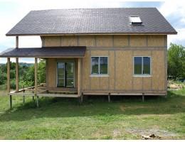 ᐉ Свайно-винтовой фундамент для каркасно-панельных сип домов • Укрпанель строительство сип домов