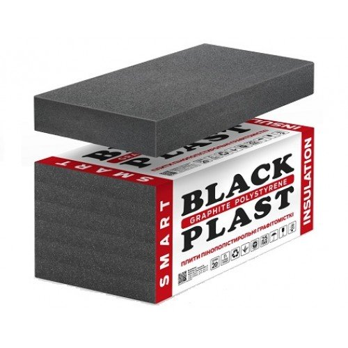 Пенопласт Чернигов • BLACK PLAST® Graphite • Графитовый пенопласт • Пенопласт с графитом