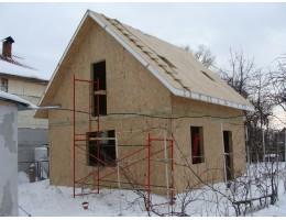 ᐉ Дом из сип панелей • Зимнее строительство • Осокорки Киев • UKRPANEL