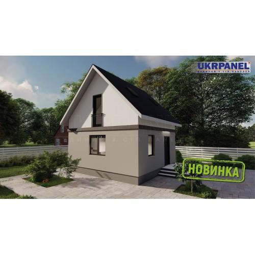 Дом из сип панелей. Проект СИП ДОМ #151 UKRPANEL